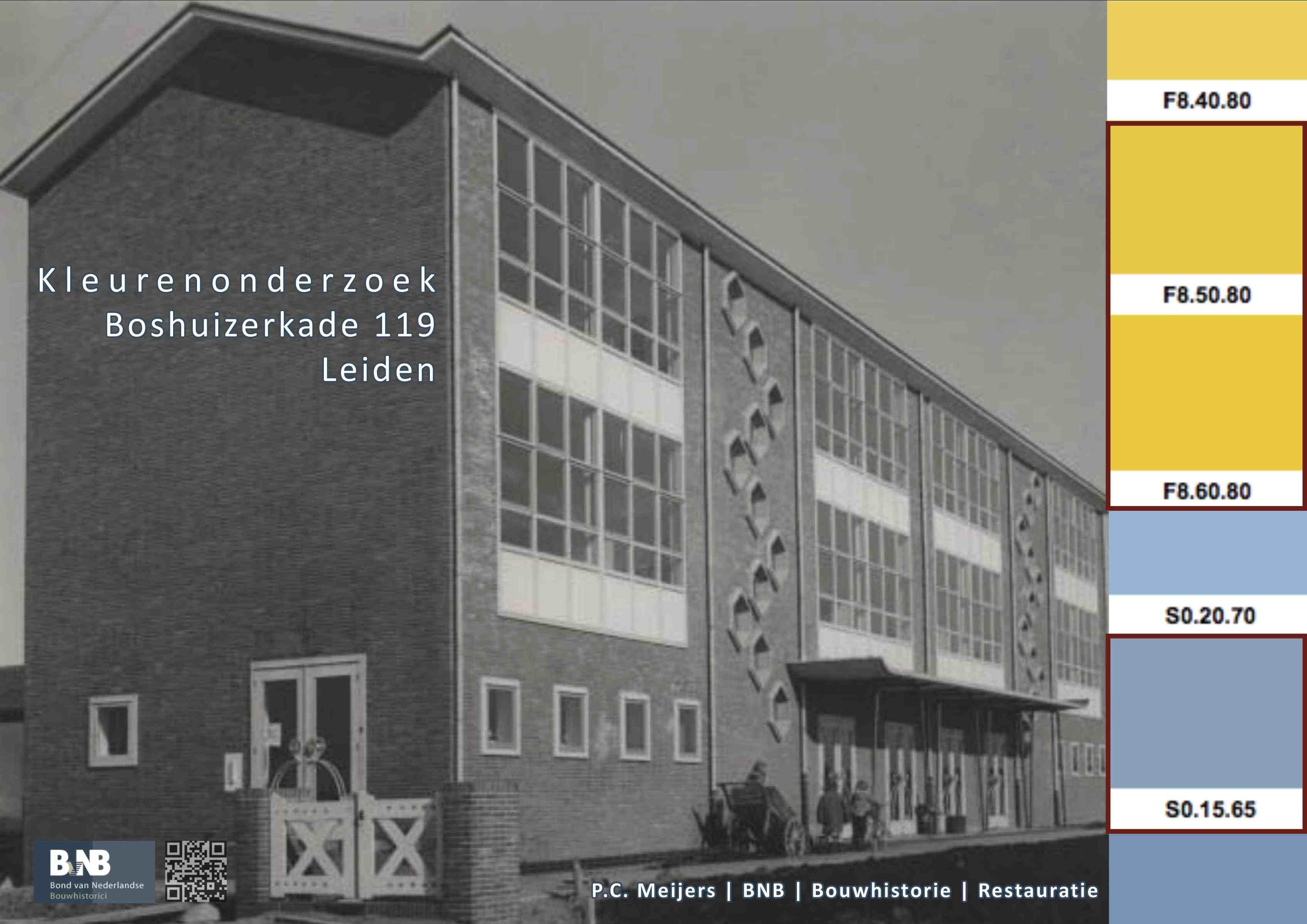 Schoolgebouw Boshuizerkade 119, Leiden