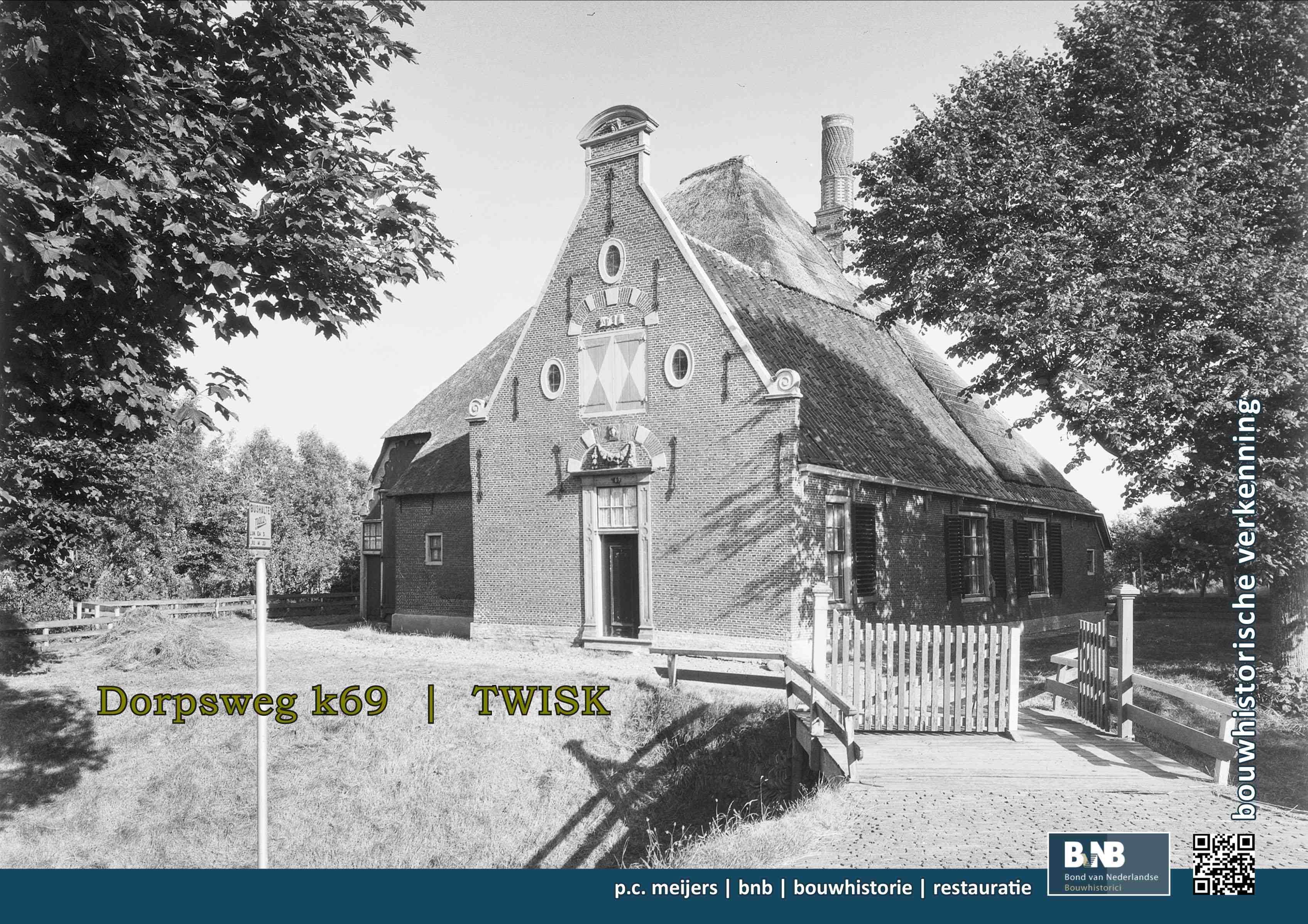 Stolpboerderij Dorpsweg 69, Twisk
