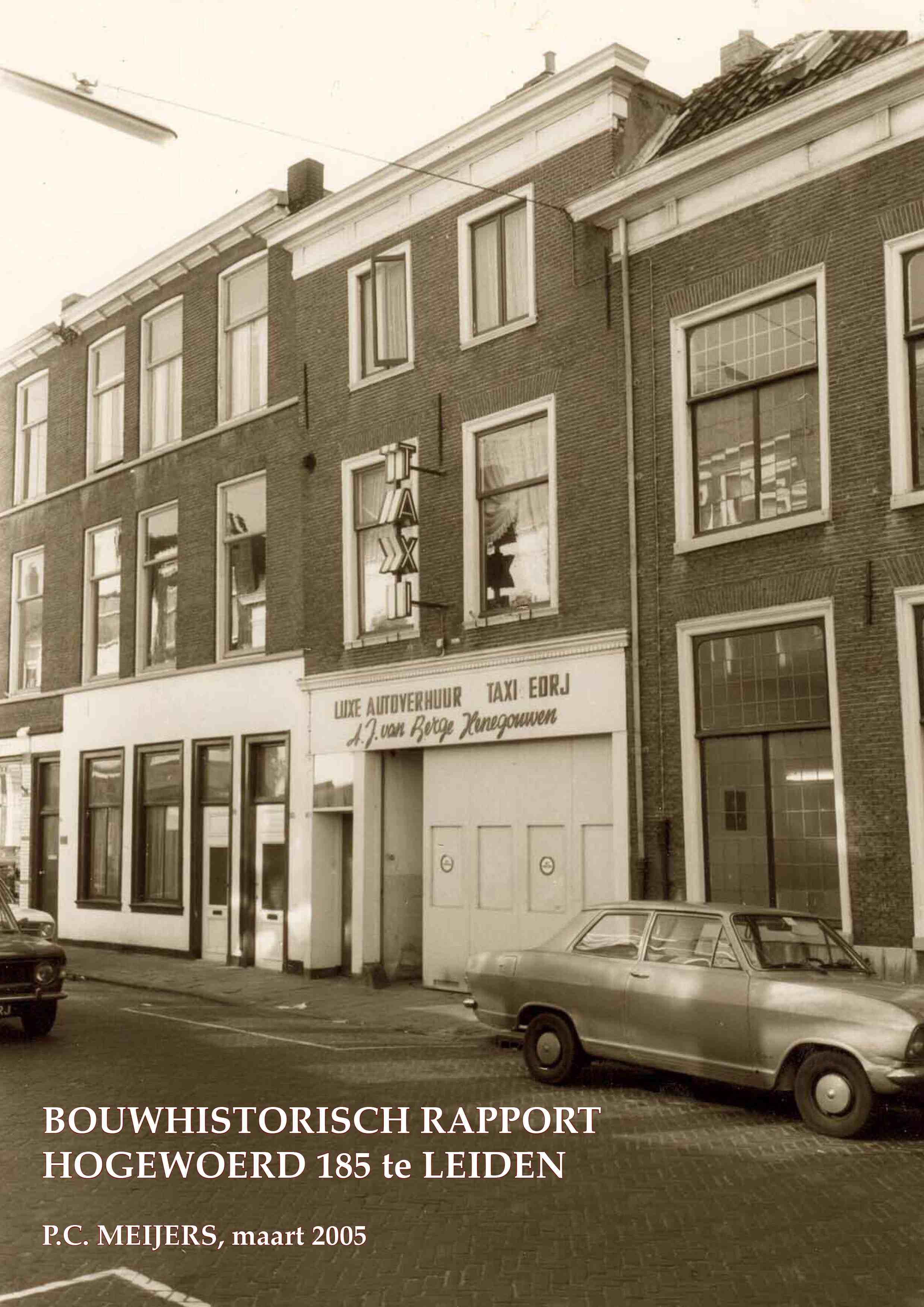 Hogewoerd 185, Leiden