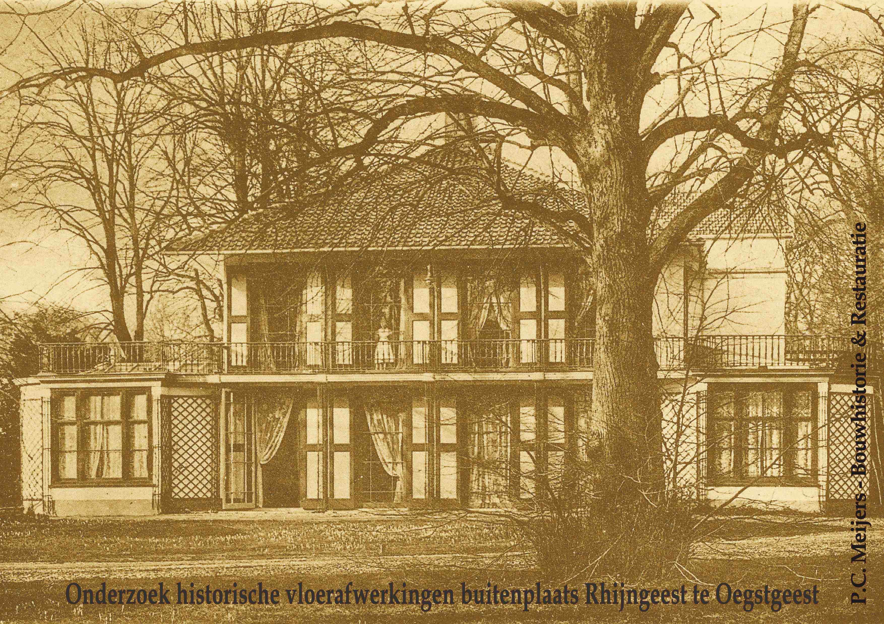 Landhuis Rhyngeest, Oegstgeest