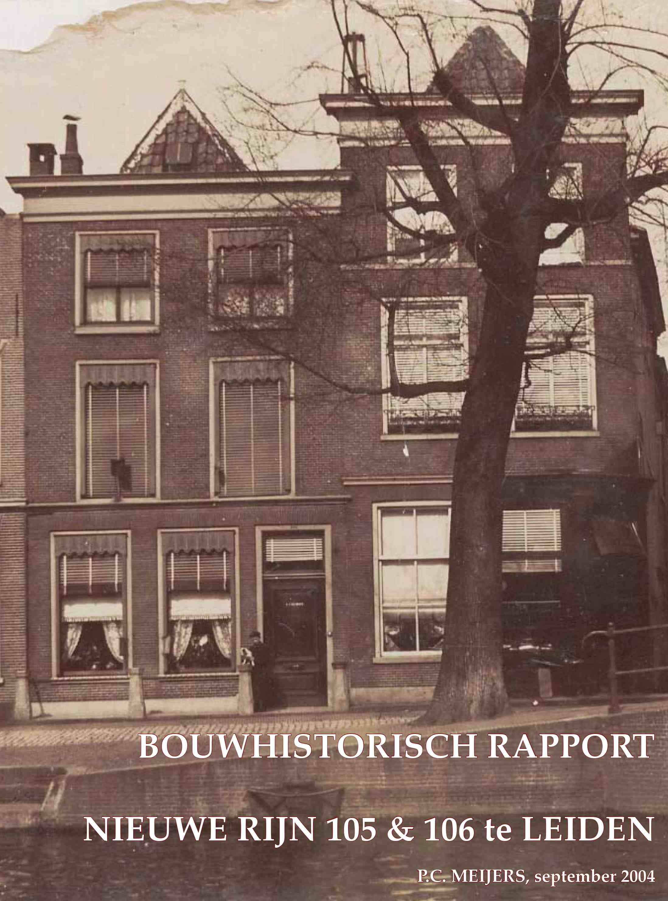 Nieuwe Rijn 105-106, Leiden