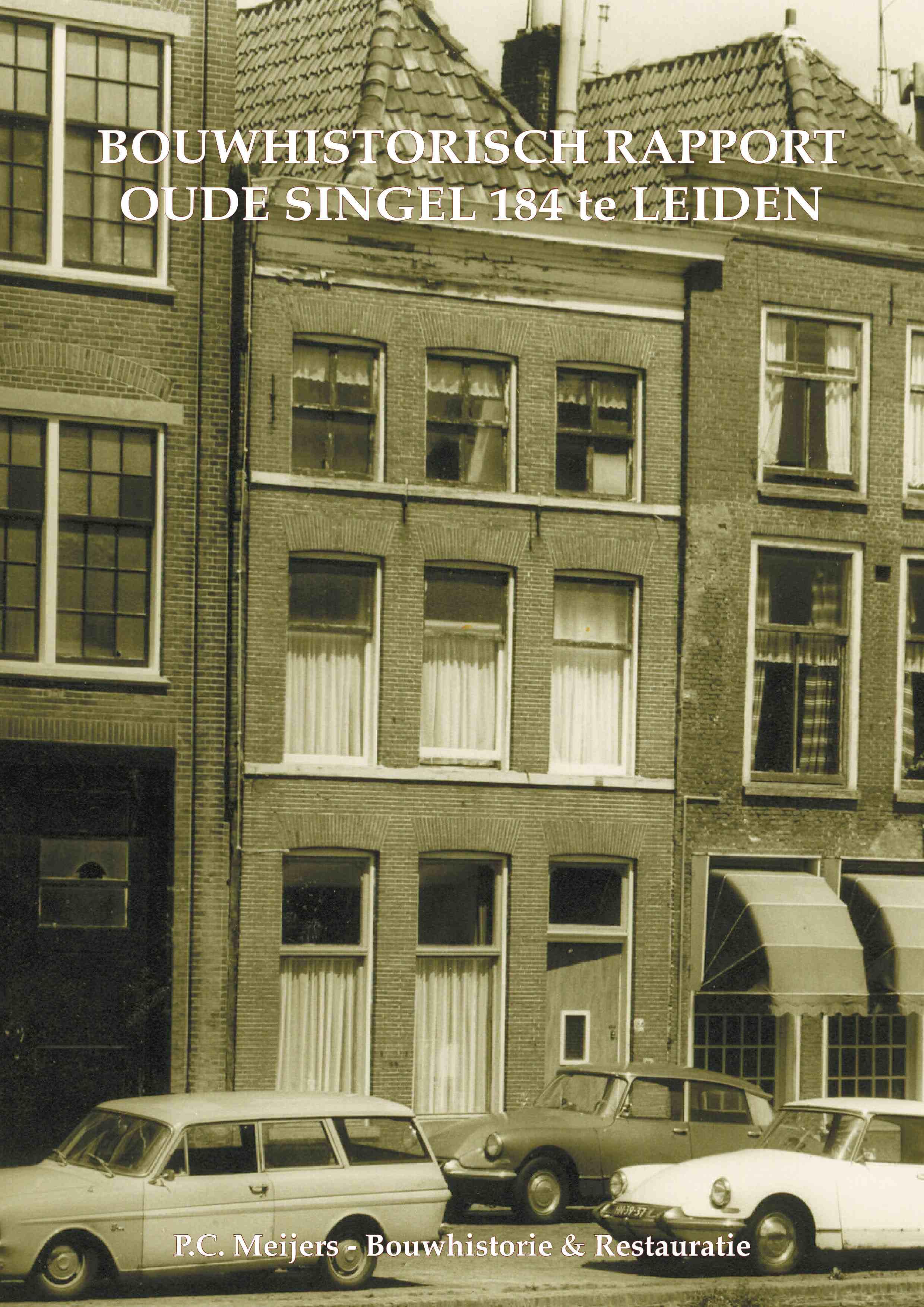 Oude Singel 184, Leiden