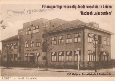 Voormalig Joods weeshuis, Leiden
