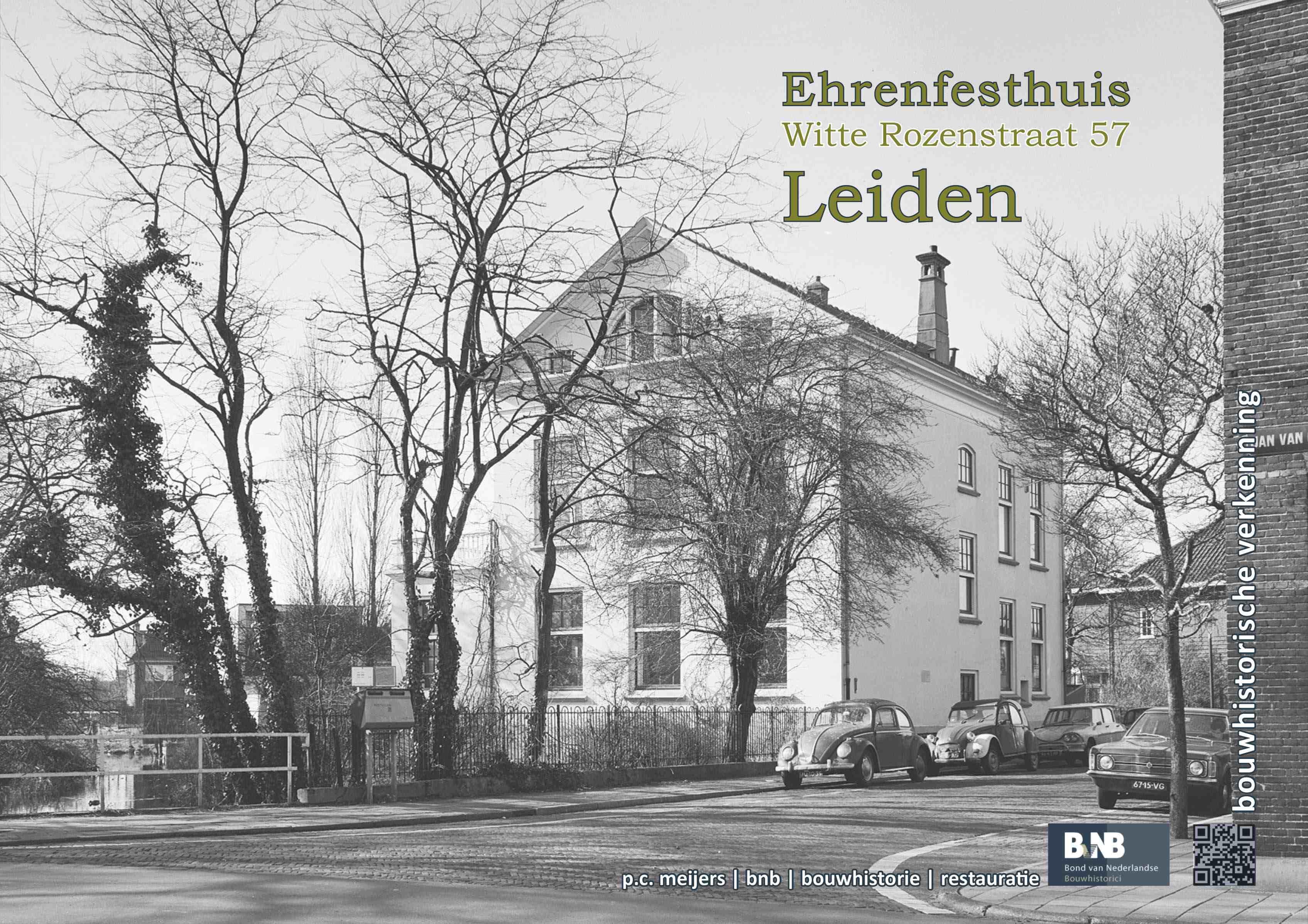 Ehrenfesthuis, Witte Rozenstraat 57, Leiden